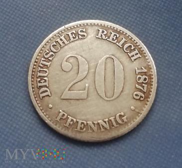 20 Feningow 1876