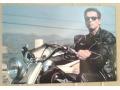 Arnold Schwarzenegger TERMINATOR 2 motocykl