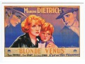 Marlene Dietrich Blonde Venus 1932