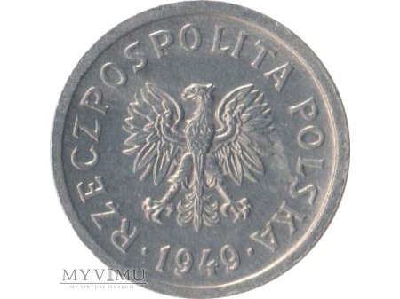 10 groszy 1949 rok Al