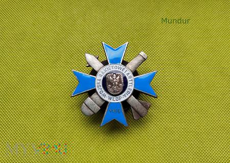 Odznaka Wojska Rakietowe i Artylerii WLOP 1959