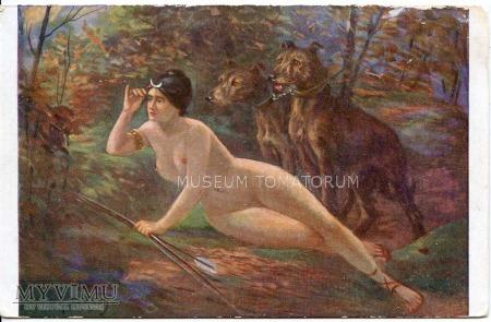 E. Samson - Diana na polowaniu