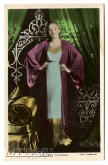 Marlene Dietrich Colourgraph nr C 138