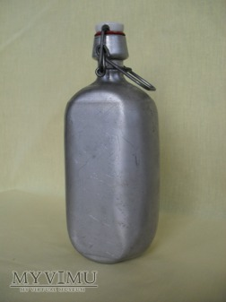 Duże zdjęcie Butelka aluminiowa - kabłąkowa