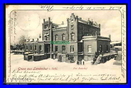 KAMIENNA GÓRA Landeshut Dworzec kolejowy