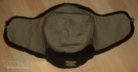 Czapka futrzana z tkaniny impregnowanej SG