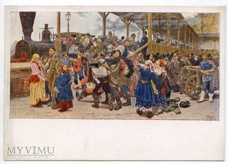 Wyjazd na wojnę przeciwko Turcji w 1877