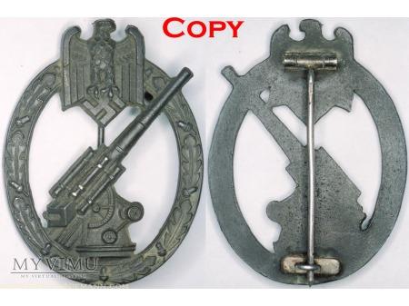 Duże zdjęcie Odznaka Artylerii Przeciwlotniczej Armii