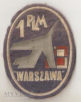Naszywka z 1PLM,,Warszawa,,