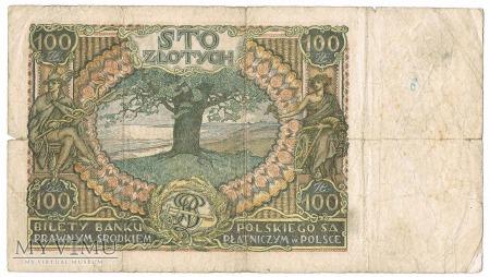1934 100 złotych Bank Polski