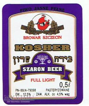 kosher szaron beer full light