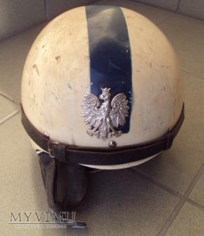 Kask motocyklowy MO/Policja