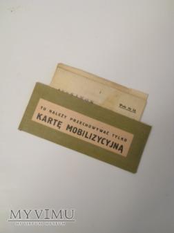 Karta mobilizacyjna 48 p.p.s.k. Stanisławów