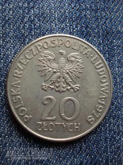 20 zł Maria Konopnicka