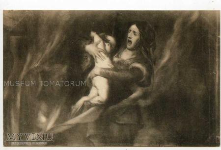 Wiertz - Dziecko płonie