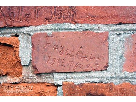 """Duże zdjęcie """"Stara Prochownia"""" - budynek A - inskrypcja #020"""