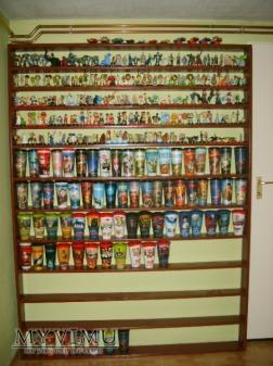 Moja kolekcja figurek i kubków filmowych