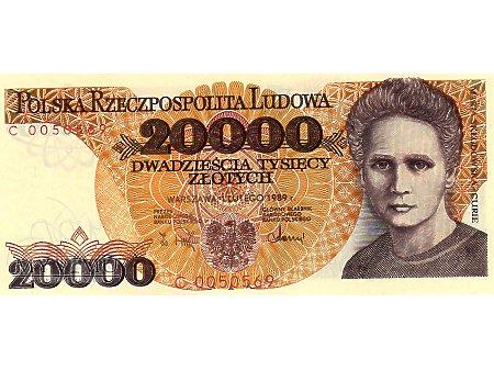 20000 Złotych 01.02.1989 r.