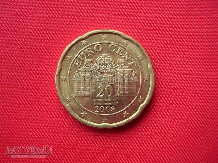 20 euro centów - Austria