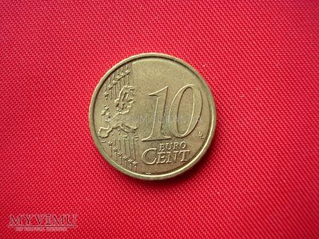 10 euro centów - Słowacja