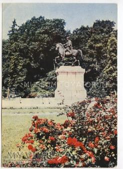 W-wa - pomnik Poniatowskiego - 1963