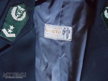 Mundur służbowy funkcjonariuszki celnej