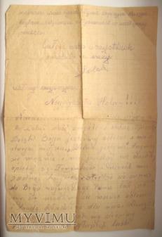 Dziadka listy z więzienia - bez daty, ostatni.