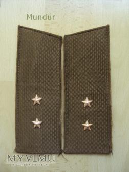 Pagony do munduru służbowego - chorąży