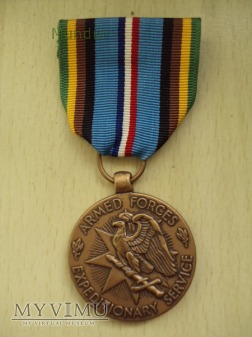 US Army: Armed Forces Expeditionary Medal