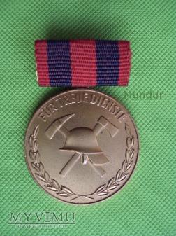 Medal brązowy Feuerwehr: für treue Dienste