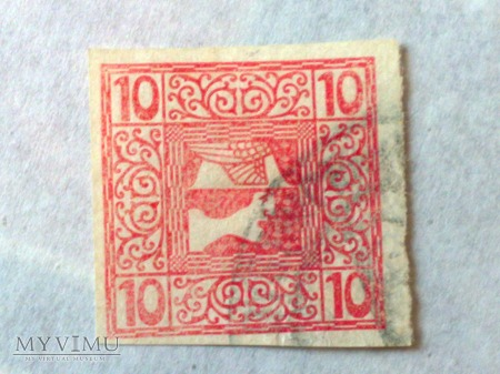 10 Halerz austro-węgierski Mercurius