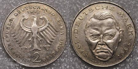 Niemcy, 1992, 2 DEUTSCHE MARK