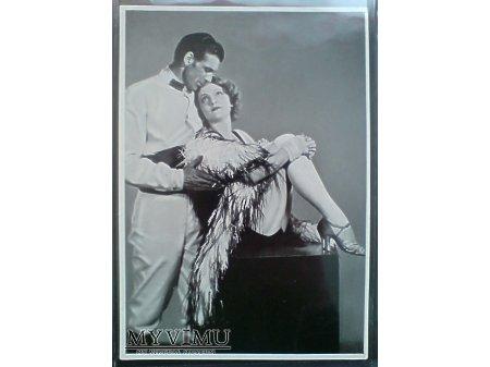 Duże zdjęcie Marlene Dietrich Gary Cooper film Marocco