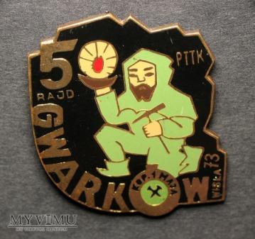 KWK 1 Maja PTTK 5 Raj Gwarków Wisła 1973