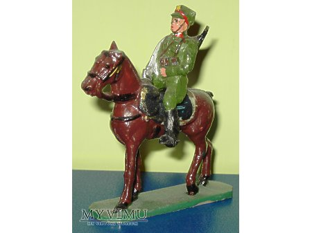 Ułan na koniu.
