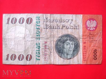 Duże zdjęcie 1000 złotych 1965 rok