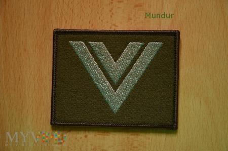 Oznaka stopnia - starszy sierżant SG