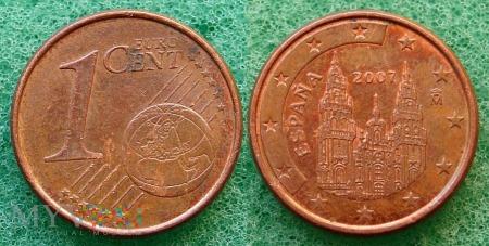 1 EURO CENT 2007