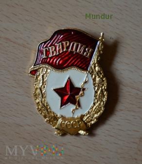 Odznaka GWARDIA na agrafkę