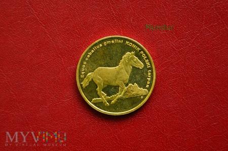 Moneta: 2 złote - konik polski