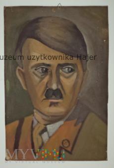Portret współczesny Pana z wąsikiem