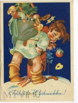 Wesołych Świąt - lata 30-te