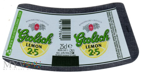 Grolsch Lemon