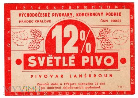 12% SVĚTLÉ PIVO