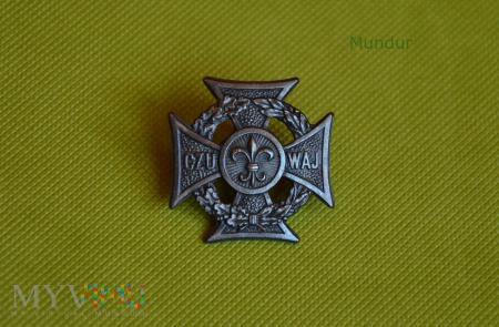 Krzyż harcerski 1974