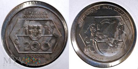 Portugalia, 200 ESCUDOS 1991