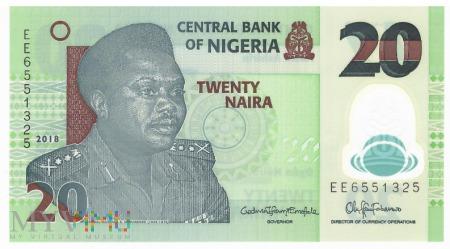 Nigeria - 20 naira (2018)