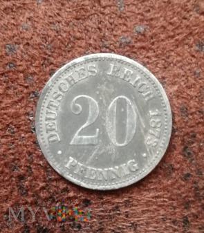 20 PFENNIG 1873 A - Berlin