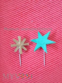 Caritas Stern und Kreuz
