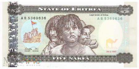 Erytrea - 5 nakfa (1997)